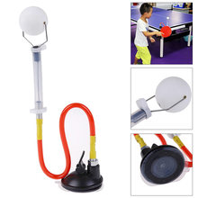 PingPong Ball Trainer Rapid Rebound Ping Pong Ball Machine Table Tennis Training Aid Robot Suction(China)