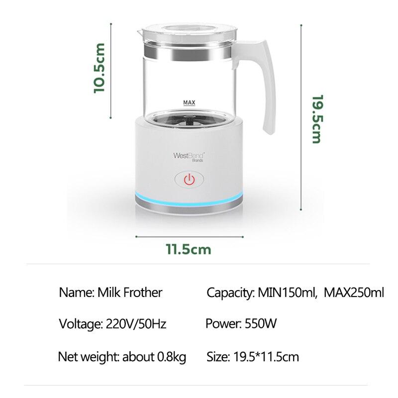eletrico leite a vapor creme leite foamer 05