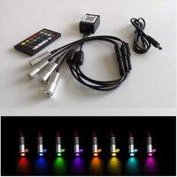 APP pilot na podczerwień 12v 3W pojedynczy kolor lub wielokolorowy RGB światłowodowy led lekki silnik z kontrola aplikacji wykorzystanie samochodu w Oświetlenie światłowodowe od Lampy i oświetlenie na