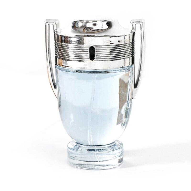 French Fragrance Unbeaten Ambition / Brave Men's Silver Cup Trophy 100 Ml Perfume Eau De Toilette Spray For Men