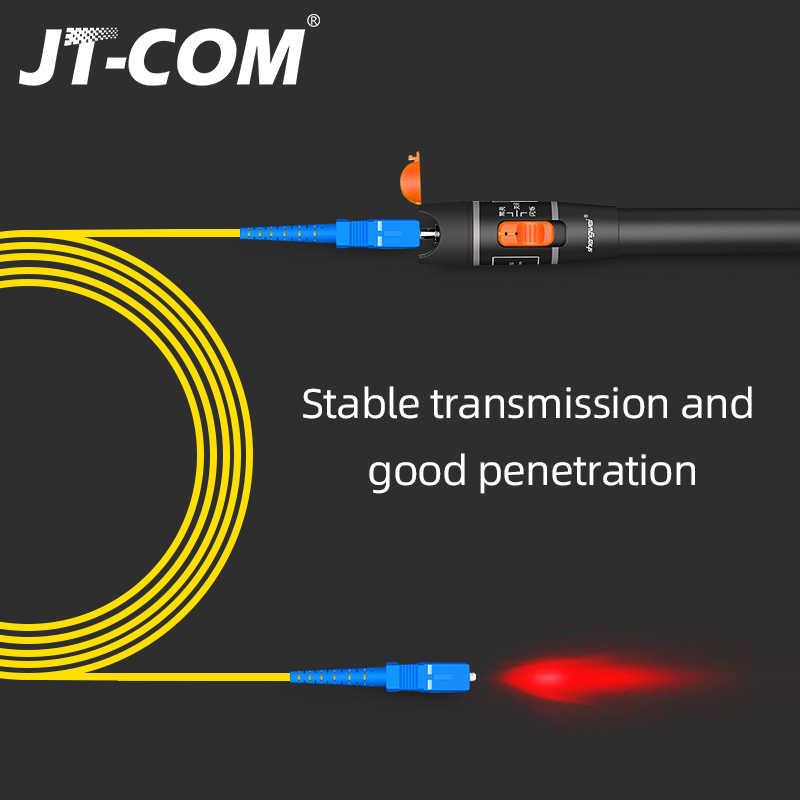 BYFRI 650nm 1mw Localizador Visual De Fallos 5 Km De Fibra /Óptica Buscador Visual De Fallos 1mw VFL Cable De Fibra /Óptica del Probador De L/áser