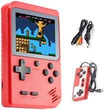 Игровые приставки для видео со встроенными 400 ретро-играми, расслабляющая игрушка во время отдыха, поддержка двух ролей, а также AV-игр