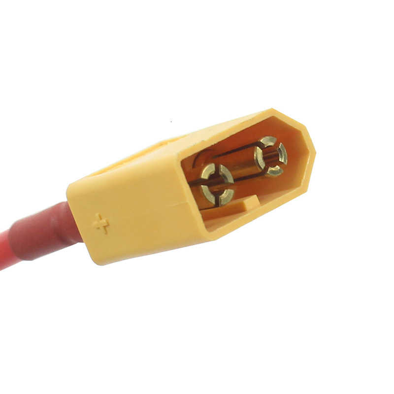 (10 ซม./100 มม.) 1 คู่ XT60 แบตเตอรี่ชายหญิงเชื่อมต่อปลั๊กซิลิคอน 14 AWG สายไฟสำหรับ 7.4 V 11.1 V 14.8 V 22.2 V แบตเตอรี่