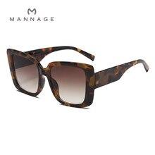 Big Frame Square Sunglasses Fashion Trend Gradient Women's Sunglasses 2021 New Hot Sale
