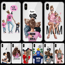 Girl luxury For iPhone X XR XS Max 5 5S SE 6 6S 7 8 Plus phone Case Cover Funda Coque Etui capa shell capinha gift woman