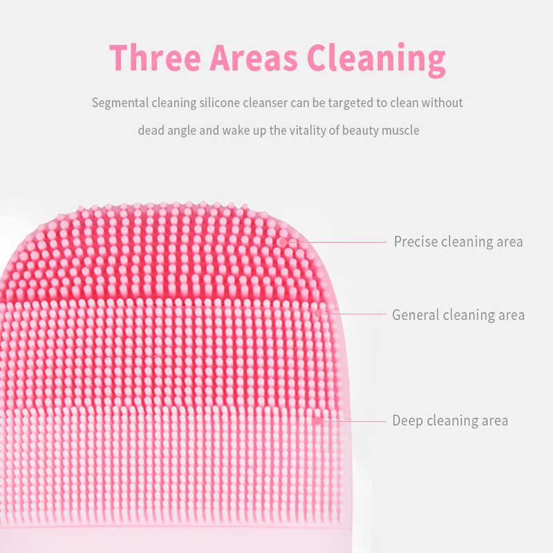 Cepillo sónico de limpieza Facial inFace, cepillo eléctrico de limpieza y masaje Facial recargable 21