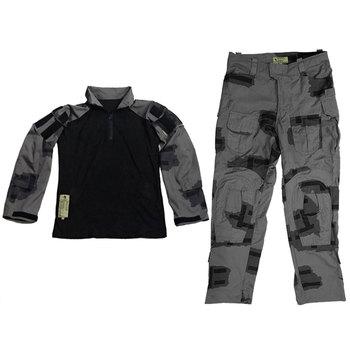 Black Gunpowder/BG T-block Outdoor Tactical Full Set Combat Clothes - S/M/L/XL/XXL tactical military special force combat uniform a tacs fg m l xl xxl