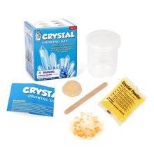 Kit de ferramentas experimentais ciência em pó de cristal crescente crianças brinquedos educativos diy kits de ferramentas de plantio de cristal