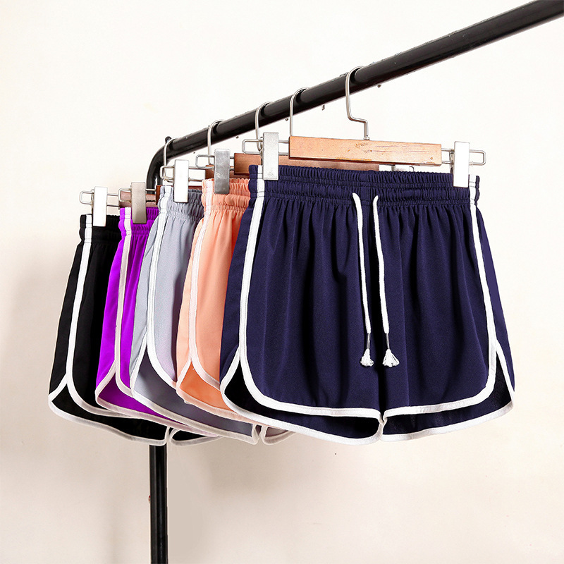 Plus Size 5xl Women Short Pants Solid Color Drawstring Elastic Loose Short Pant Feminina Shorts Sportswear Outdoor Casual Bottom