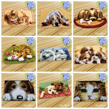 Button Cushion Cartoon Animals Latch Hook Carpet Embroidery Foamiran For Needlework Package Rug Kits