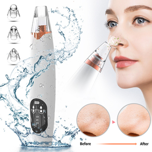 Blackhead Remover Vacuum Electric Nose Face Pore Deep Cleaning Skin Care Cleanser Blackhead Remover Spots Pore Cleaner T Zone
