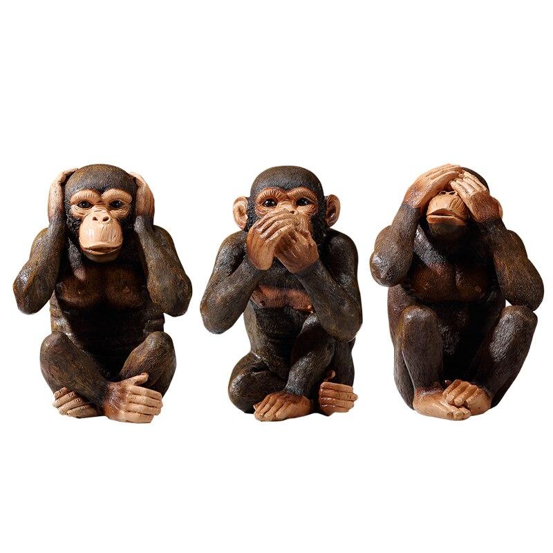 Resin Monkey Figurine  6