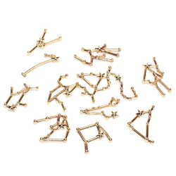 12 Constellation Hars Metalen Frame Vullingen Materialen Epoxy Mold Sieraden Maken Y4QB
