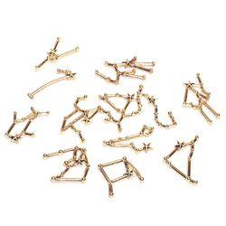 12 konstellation Harz Metall Rahmen Füllungen Materialien Epoxy Form Schmuck, Der Y4QB