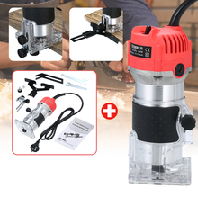 Slotting-Trimming-Machine Wood-Router Engraving 30000rpm Milling 800W