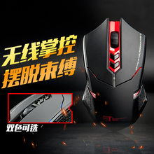 Genuine Wireless Mouse Professional E-Sports Mute Silent USB Game Notebook Computer Office Lol(China)