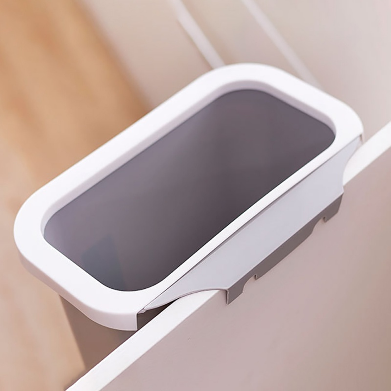 Kitchen Home Waste Bin Table Simple Large Trash Board Garbage Can Hanging Door Without Cover Plastic Bucket|Waste Bins| |  - title=