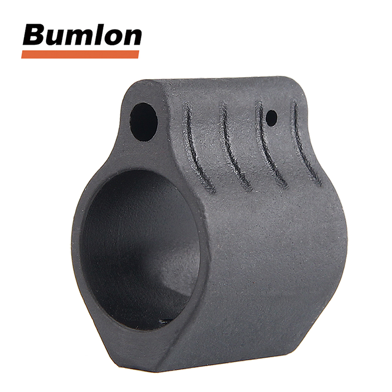 Micro Alloy Low Profile Gas Block M4 / AR15 Plus Roll pin For Picatinny Rail Systems Hunting 750 556 5.56 223 300 RL1 0006|Scope Mounts & Accessories| |  - title=