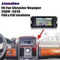 Liandlee Android 8.0 up For Chrysler Voyager 2008~2013 Car Carplay Radio DVD Player GPS Navi Navigation Maps Camera OBD2 Screen