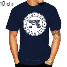 Molon Labe 9Mm 40 45 Cal Tribal Stamp Design Nra Gun Rights Man Round Neck Tops Black Size S-3Xl