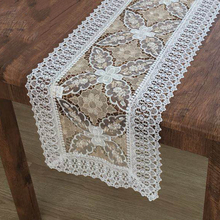 Lychee Lace Embroidery Table Cloth Simple Rectangle Cover Home Wedding Birthday Party Tablecloth
