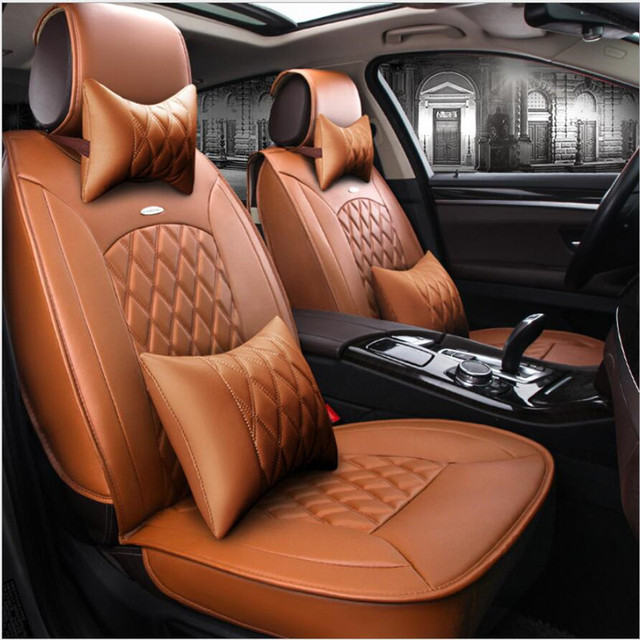 high quality Universal PU Leather car seat covers for isuzu all models JMC S350 D-MAX same structure interior Car seat cushion
