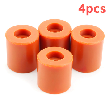 3d printer parts heat bed cotton 220 220 3mm hotbed thermal pad insulation cotton with cork glue reprap ultimaker makerbot 3D Printer Bed Mounts Silicone Solid Heatbed Parts Hotbed Leveling Column Heat Resistant Silicone Buffer Professional 4PCS
