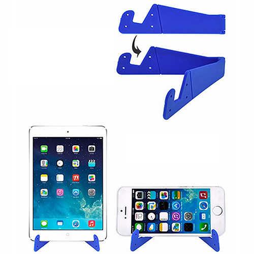 Universal Faltbare Handy V-Form Stand Halter Halterung für Smartphone Tablet