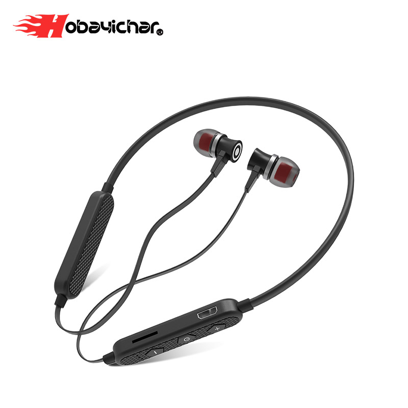 Hobayichar Wireless Headphones Gaming Headset Stereo foldable Sport Earphone Microphone Gaming Cordless Auriculares Audifo image