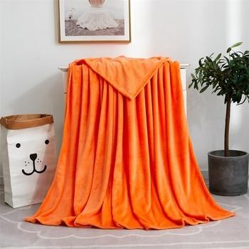 Gorąca sprzedaż ciepły koc tekstylia domowe flanelowe ważone koc Super miękkie koce rzuć na kanapie/łóżko/podróży stałe narzuta duża