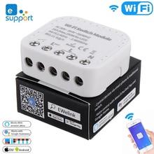 EWelink APP /External Switch /Alexa Google 홈으로 스마트 홈 오토메이션 작업을위한 16A Wifi 스마트 스위치 DIY Wifi 스위치 모듈