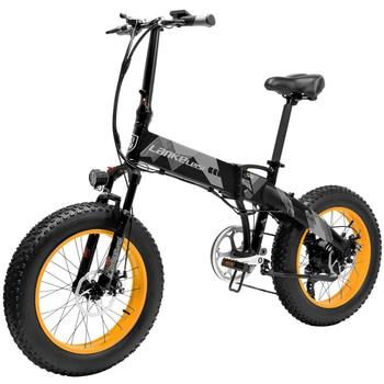 Bicicleta eléctrica plegable de 20 pulgadas, 500/1000W, asistencia eléctrica, 70 - 90km