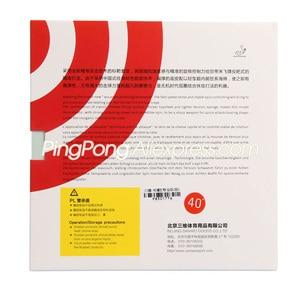 Image 5 - SANWEI TARGET 90 (90% Sticky) Table Tennis Rubber Original SANWEI TARGET Ping Pong Sponge