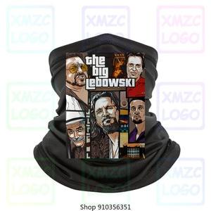 Freeship Hot Bandana The Big Lebowski Gta Bandana Black Unisex Full Size Headband scarf Bandana Neck Warmer Women Men