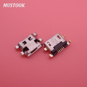Image 3 - 500PCS/Lot Micro Usb For Alcatel 7040N Charge Port Dock Socket For Lenovo A708t S890 For Huawei G7 G7 TL00 Charging Connector