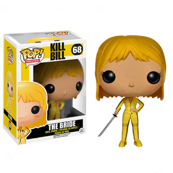 FUNKO POP Kill Bill Vol.1 The Bride 68# Vinyl Model Dolls Action Figure Toys Collection for Kids Birthday Gifts 1