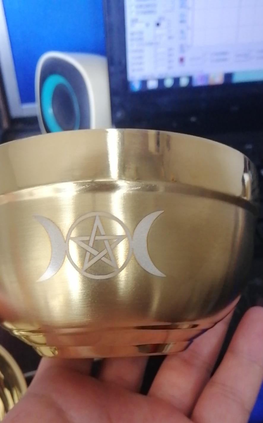 tigela pentagrama