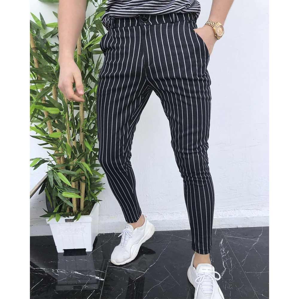 Fashion Men's Slim Fit Formal Joggers  1