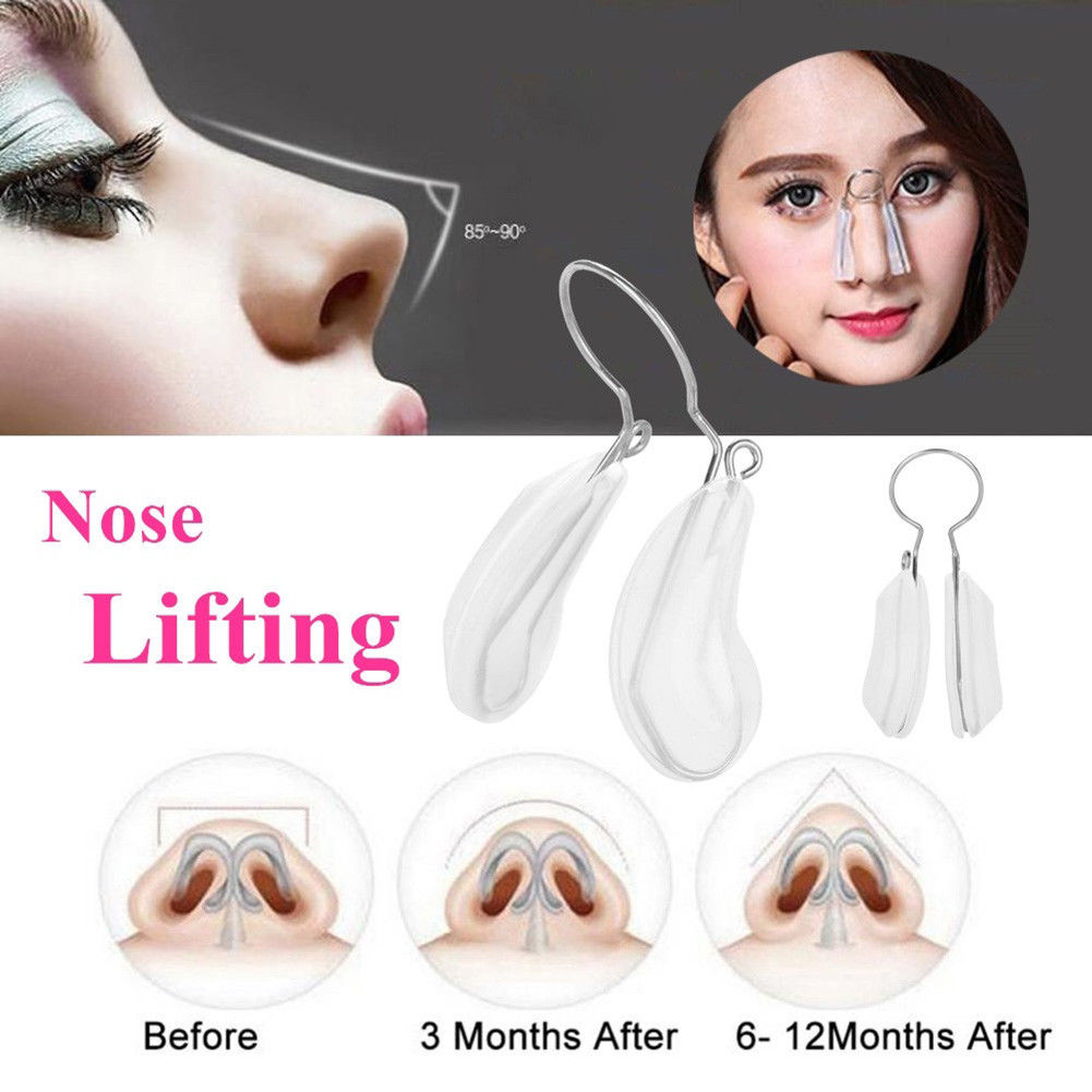 Fashion Nose Shapers Correction Massager Lifting Shaping Silicone Beauty Corrector Massage Clipper Face Lift Tool