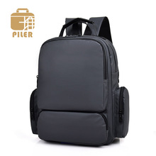 Large Capacity Casual Business Men Backpacks Laptop Square Nylon Backpack School Bag for Teenagers Travel Daypacks Male Rucksack