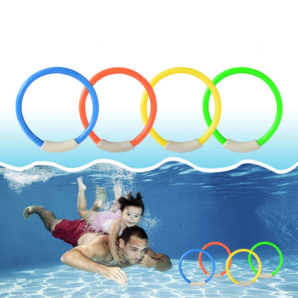 Toys Brightly Colored Diving Ring Sea Plant Rod Summer Swimming Pool Underwater Game Throwing Toy  Younger Swimmers Grab Easy
