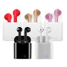 I9s i7s tws fone de ouvido sem fio bluetooth estéreo fone com caixa carregamento para iphone 6 7 8 x android ios sistemas