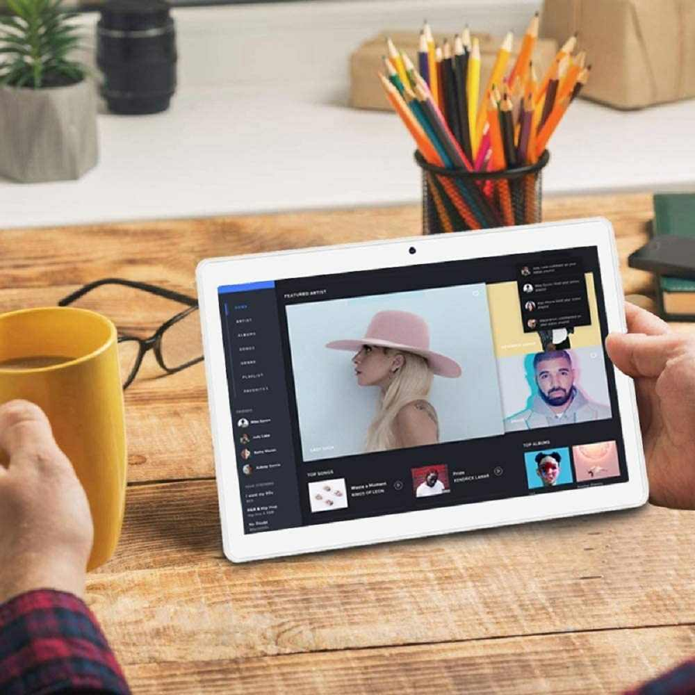 Neue System 10 zoll Tablet PC 3G Anruf Android 9,0 Tablet WiFi Bluetooth 2GB 32GB Dual SIM Unterstützung phablet 10,1 + tastatur