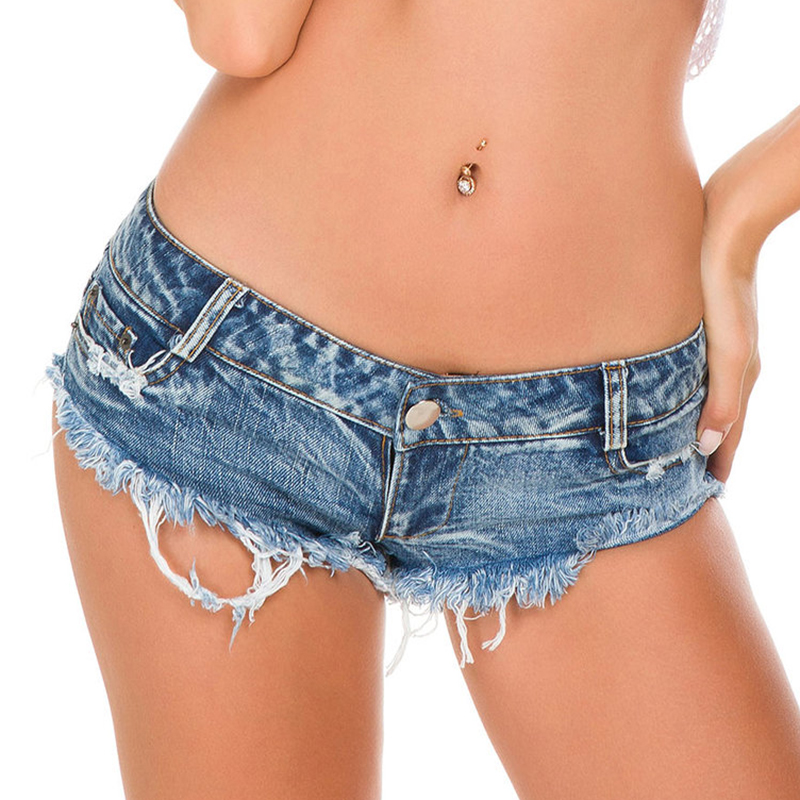 <font><b>Women</b></font> push up micro <font><b>shorts</b></font> jeans <font><b>mini</b></font> <font><b>shorts</b></font> <font><b>sexy</b></font> hollow high waist summer thong nightclub denim <font><b>shorts</b></font> image