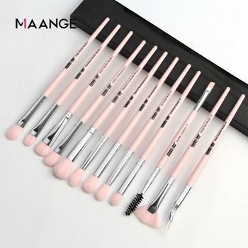 Makeup brushes set professional 12 pcs/lot Makeup Brushes Set Eye Shadow Blending Eyeliner Eyelash Eyebrow Brush For Makeup Tool