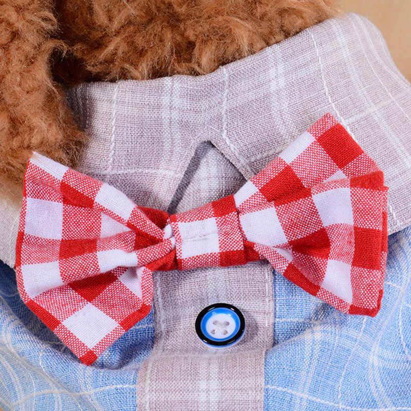สัตว์เลี้ยงสุนัขเสื้อผ้าเสื้อน่ารักสำหรับสุนัขขนาดเล็กฤดูใบไม้ผลิ T เสื้อเสื้อแมวเสื้อผ้าลูกสุนัขสำหรับสุนัข Chihuahua ผู้ผลิต 50