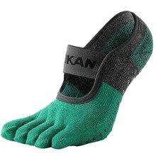 MKYG1902 MEIKANG Frauen Kappe Yoga Socken Terry Sohle Anti Skid 5 finger Nicht Slip Hohe Qualität Marke dance Pilates Ballett Yoga Meias