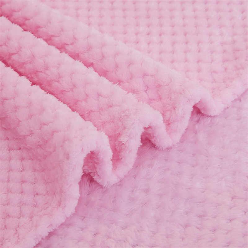 침구 류 플란넬 플리스 던지기 담요 부드러운 따뜻한 담요 두꺼운 침대보 플러시 커버 침대 소파 크리스마스 선물 Dropship