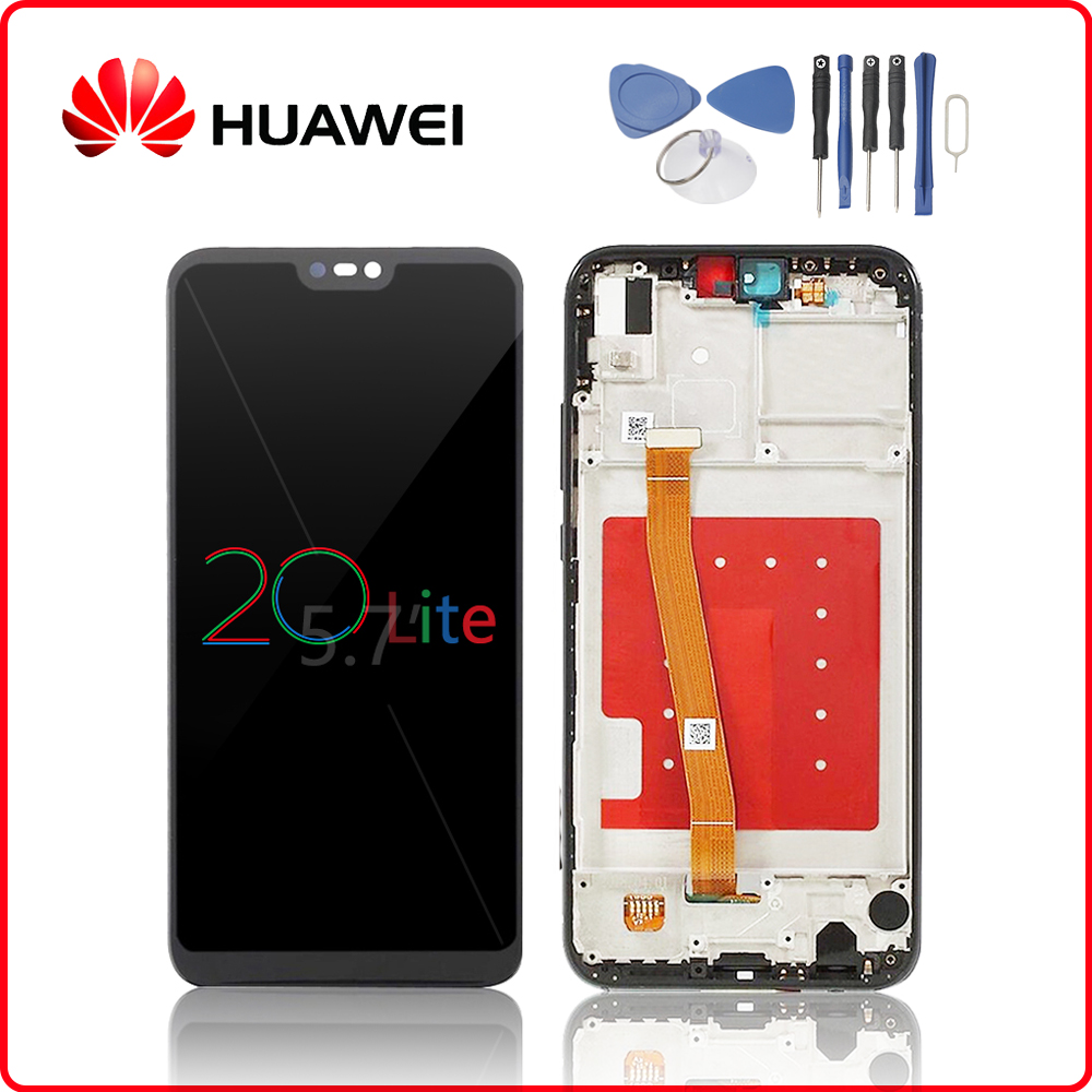 LCD P20 Phone Screen Replacement Full Assembly Huawei P20/ P20 ...
