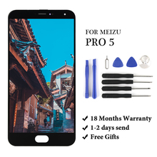 """5.7""""inch LCD For Meizu Pro 5 LCD Display Touch Screen Panel Digitizer Assembly Replacement Parts With Gift For Meizu Pro 5 LCD sx14q009 5 7 inch lcd screen display panel for hmi repair parts new"""
